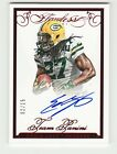 EDDIE LACY 2015 PANINI FLAWLESS RUBY ON CARD AUTO AUTOGRAPH #02 15 PACKERS