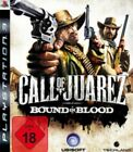 Playsation 3 CALL OF JUAREZ Bound in Blood  * DEUTSCH GuterZust.