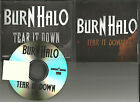 Eighteen Visions BURN HALO Tear it Down TST PRESS PROMO DJ CD single 2011 USA