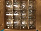 PUNCH BOWL CUPS JEANETTE FRUIT SET OF 12 Glasses, Grapes, Peach, Pear