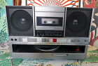 80's Vintage PANASONIC SG-J500 BOOMBOX Ghetto Blaster Cassette w/ Record Player