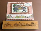 Stampin Up row of birdhouses Branch Ivy summer stamp Nature