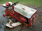 Vintage Cub Cadet Lawn Tractor Mower for Parts or Repair painted r