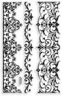 Elegant Borders Stampendous Clear Acrylic Stamp Set SSC1122 NEW