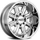 18x10 PVD Chrome Moto Metal MO972 Wheels 5x55 24 Lifted CHEVROLET TRACKER