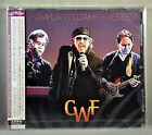 Bill CHAMPLIN WILLIAMS FRIESTEDT CWF +2 BONUS JAPAN CD Plst Cs Ltd PCCY-1985 NEW