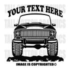 JEEP GRAND WAGONEER SUV 1966 1970 4x4 Off Road Personalized Vinyl Decal