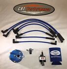 JEEP WRANGLER IGNITION TUNE UP UPGRADE KIT 1998 1999 TJ 40L 242 BLUE CAP WIRES