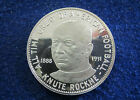 1888 - 1931 Knute Rockne Silver Proof Medal - Free U S Shipping