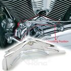 Chrome Cylinder Base Covers For 2006 2017 Dyna Model FXDL Dyna Low Rider