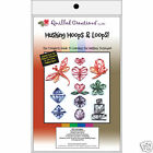 HUSKING HOOPS  LOOPS KIT Quilling Quilled Paper Craft Cardmaking Scrapbooking