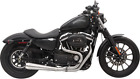 Bassani Brushed Road Rage Motorcycle Exhaust 86 03 Harley Sportster XL XLH