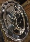 F. B. Rogers Silver 1883 Plated - Tree Of Life Scalloped Tray Original 18