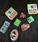 GIRL SCOUT MERIT BADGES PATCHES  PINS UNUSED LOT OF 8
