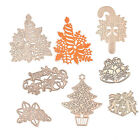 Christmas Tree Gift Box Cutting Dies Metal Template DIY Scrapbooking Paper Cards