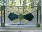 ART DECO Stained Glass  Beveled Window PANEL Handmade by me