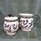 Oneida (Oliveto) Covered Sugar and Creamer Set,NIB   Retired  Pattern