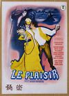 Le Plaisir JAPAN MOVIE PROGRAM BOOK 1953 VINTAGE Max Ophuls Claude Dauphin Gaby