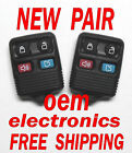 NEW PAIR 2003 2004 2005 2006 FORD EXEDITION KEYLESS REMOTE ENTRY FOB 5925872