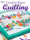 CREATIVE PAPER QUILLING Wall Art Jewelry Cards Quilled Craft Idea Book