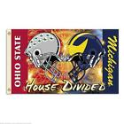 Michigan Ohio State 3 Ft X 5 Ft Flag W Grommets Helmet House Divided