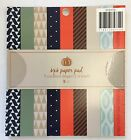 6x6 Fall Patterned Cardstock Paper Pad Scrapbooking Teacher Supply