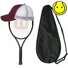 New 2017 Wilson Pro Staff 25 Junior Strung with Cover and Youth Hat