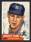Top 10 Whitey Ford Baseball Cards 19