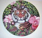FITZ & FLOYD  Exotic Jungle TIGER Luncheon/Collector/Salad Plate