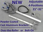 Outboard Boat Motor Support Bracket Transom 21 31 Over the Roller and Bolt On