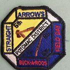 ROYAL RANGERS patch 1985 Potomac Dist Straight Arrows Buckaroos Field Day