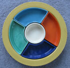 Vintage Fiesta Relish Tray ALL SIX COLORS! MINT Condition NR!