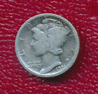1921 MERCURY SILVER DIME-KEY DATE **NICE CIRCULATED SILVER DIME** FREE SHIPPING!