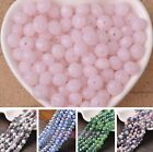 Wholesale Lot 72pcs 8X6mm Rondelle Faceted Crystal Glass Spacer Loose Beads DIY