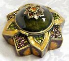 Jay Strongwater LOTUS STAR TRINKET BOX  NIB