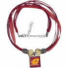 Cent Michigan Chippewas Wincraft Ribbon Lifetiles Necklace W Beads Jewelry
