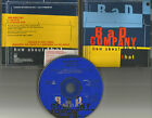 Brian Howe BAD COMPANY How About that w/ RARE EDIT PROMO DJ CD single 1992 USA