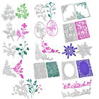 Flower Butterfly Metal Cutting Dies DIY Scrapbooking Album Paper Card Embossing