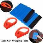 Useful Safety Vinyl Cutter & 3M Felt Edge Squeegee 4 pcs Car Wrapping Tools