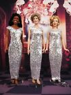 Silver Dress Outfit Gown Fits Princess Diana Marilyn Monroe Michelle Obama Doll