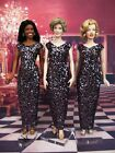 Evening Dress Outfit Gown For Princess Diana Marilyn Monroe Michelle Obama Doll