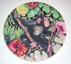 FITZ & FLOYD  Exotic Jungle MONKEY Luncheon/Collector/Salad Plate