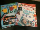 2 Scrapbooking page idea books Sterling Publishing Co 2001