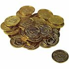 144 pcs Pirate Gold Coins Money Caribbean Treasure Birthday Party Favor Toy
