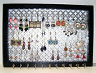 DECORATIVE JEWELRY ORGANIZER HOLDER EARRING BRACELET NECKLACE WALL MOUNT DISPLAY