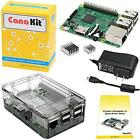 CanaKit Raspberry Pi 3 Kit with Clear Case and 25A Power Supply New