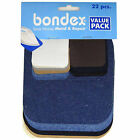 Bondex Dritz Singer Value Pack No Sew Assorted Denim Twill Iron-on Repair Patch