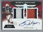 2013 UD ULTIMATE SIGNATURES PATCH PARALLEL PATCH AUTO BO JACKSON 10 RAIDERS
