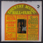 VARIOUS: Country Music Hall Of Fame LP (corner ding, shrink) Country
