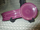 Plum Fiesta Spoon Rest, Retired Color